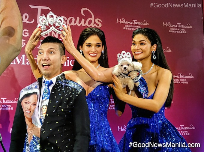 Miss Universe Pia Wurtzbach Makes History as 1st Filipino Wax Figure