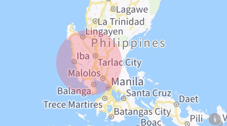Earthquake: Zambales, Philippines