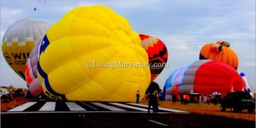 Hot Air Balloon Festival in Clark