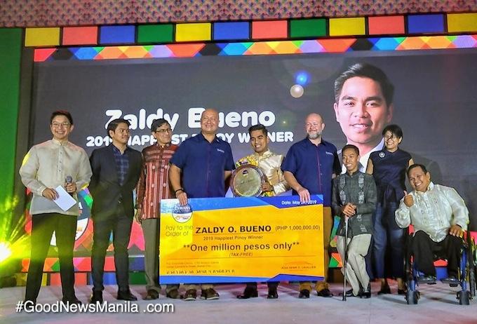 Happiest Pinoy 2019 Winner