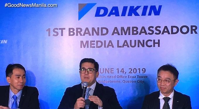 Aga Muhlach is Daikin PH 1st Brand Ambassador!