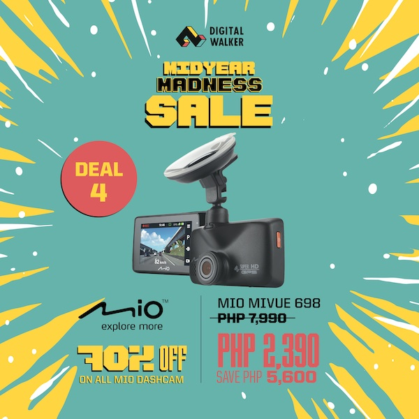 Mio Dashcam Digital Walker Sale