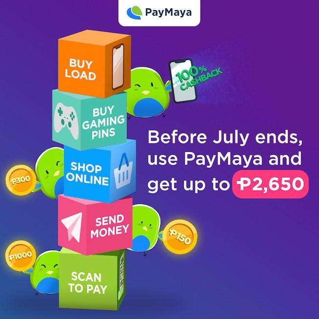 PayMaya Cashback