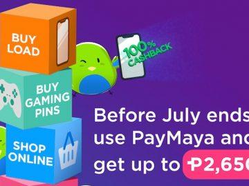 PayMaya Promos
