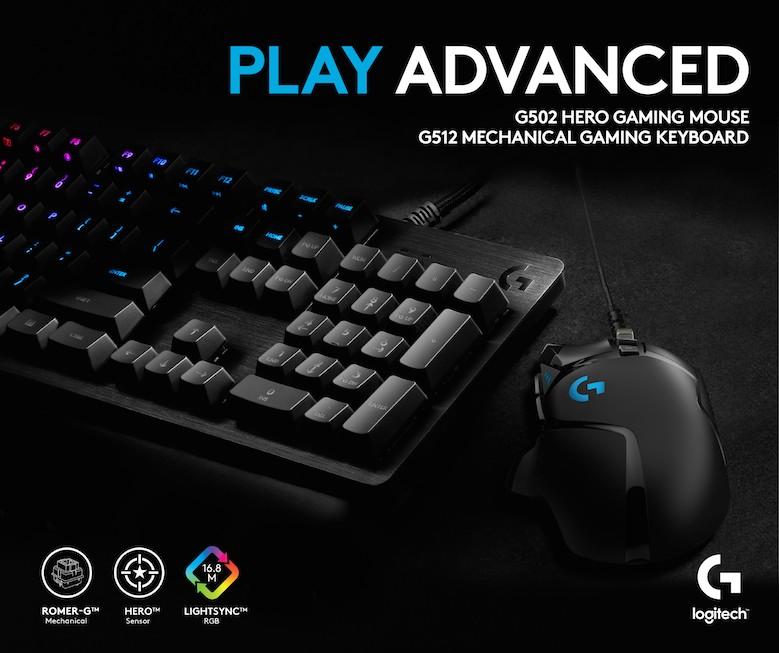 Logitech Keyboard G512
