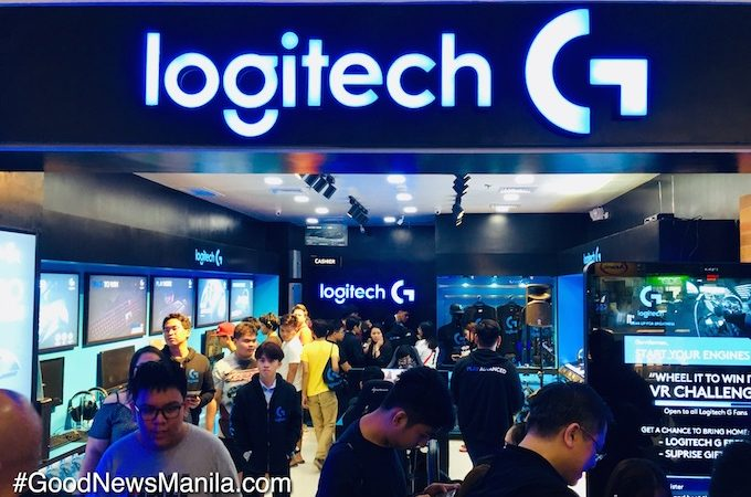 Gamers Troop to 1st Logitech G Concept Store Opening Day in SM North EDSA Cyberzone