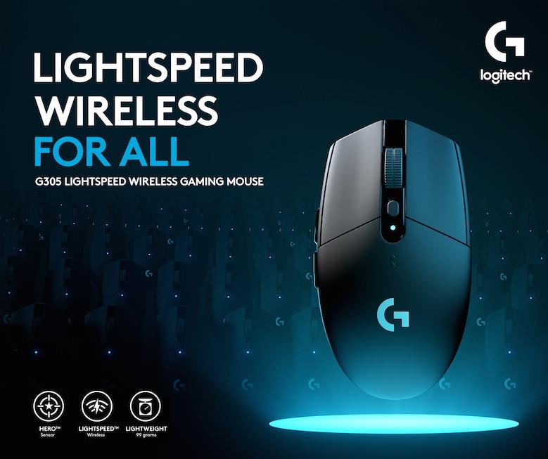 Logitech Wireless Mouse G305