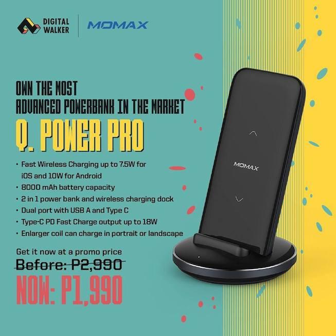 Momax Q Power Pro Promo