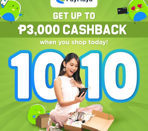 10.10 Madness: Cashbacks & Deals from PayMaya!