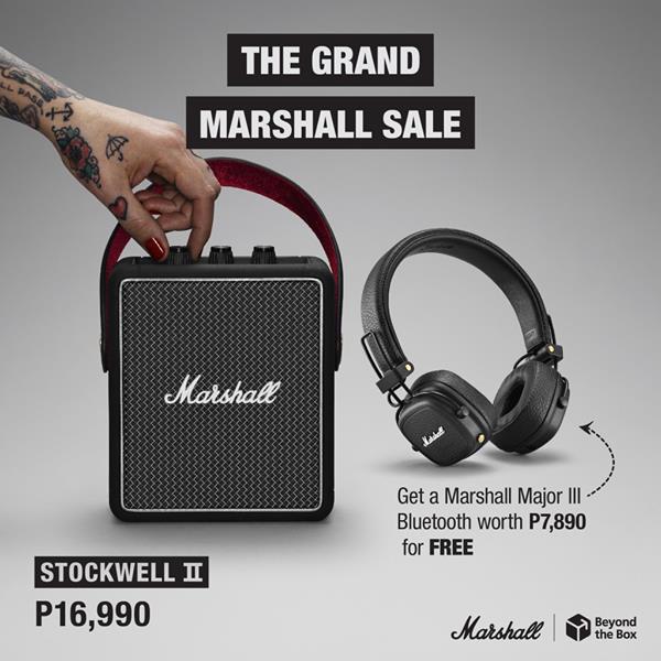 Marshall Bundle