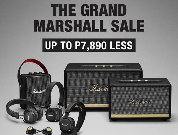 The Grand Marshall Sale