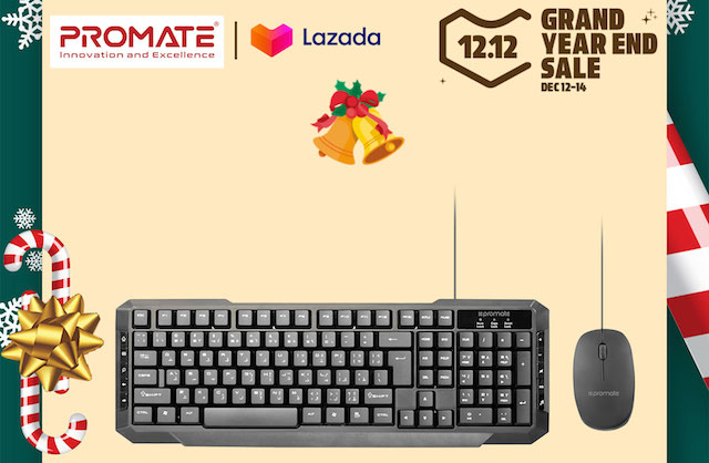 Promate x Lazada 12.12 Grand Year-End Sale 2019