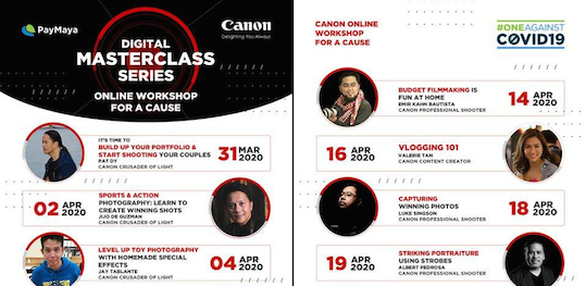 Canon Digital Masterclass