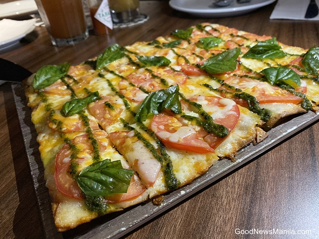 Three Cheese and Roma Tomato Flatbread