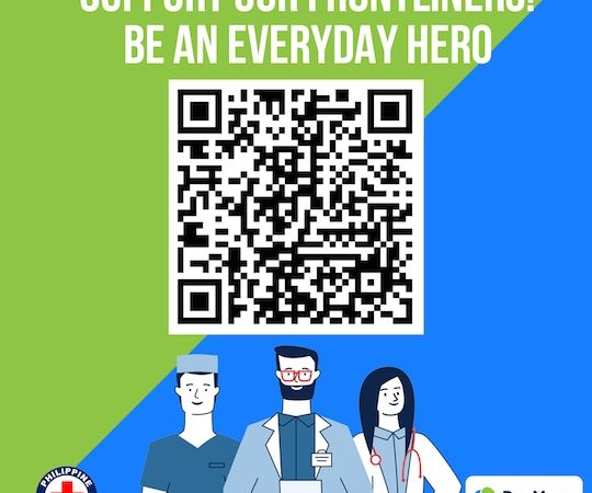 Donate to PH Red Cross via PayMaya QR!