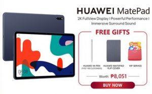 Huawei MatePad Freebies