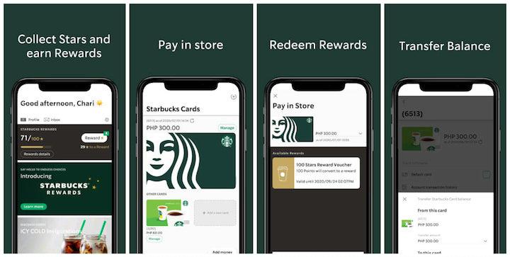 New Starbucks Rewards 2020