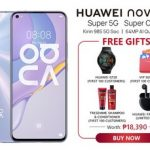 Huawei Nova 7 Freebies