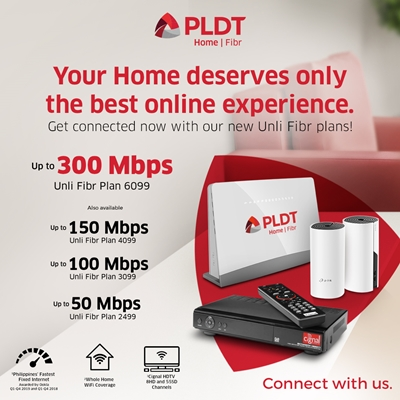 PLDT Home unveils all-new Fibr Plus Plans