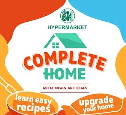 SM Hypermarket Complete Home 2020 Deals Starts this August!