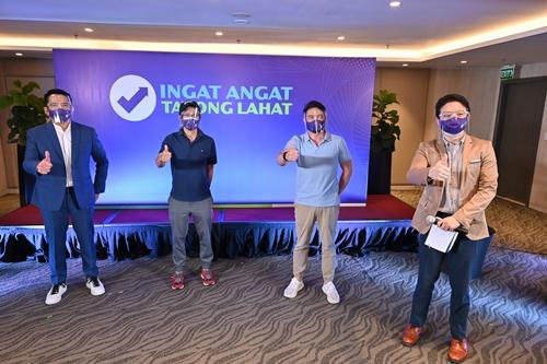 The Ingat Angat Tayong Lahat Campaign