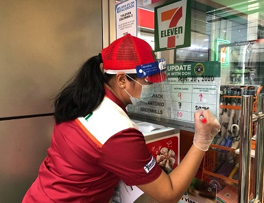 DOH & 7-Eleven Teams-Up Against COVID-19 with Community Approach