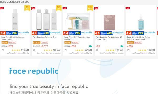Face Republic on Shopee
