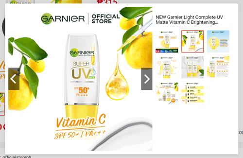 Garnier Matte Vitamin C