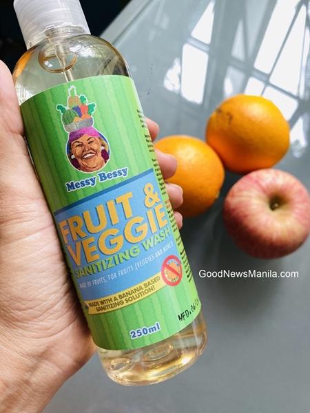 Messy Bessy Fruit Veggie Wash