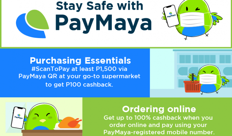 Promo Highlights: Staying Safe with PayMaya