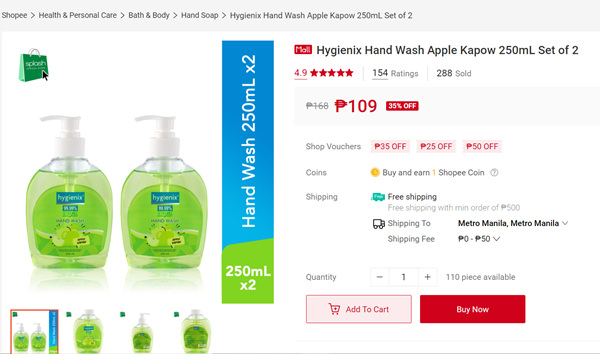 Hygienix Hand Wash