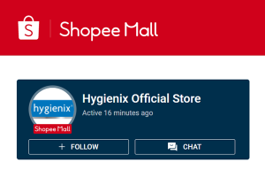 Hygienex Official Store on Shopee