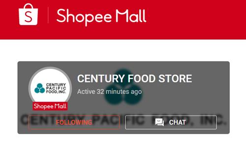Century Food on Shopee