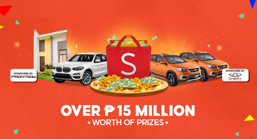 Over P15 Million worth of Prizes