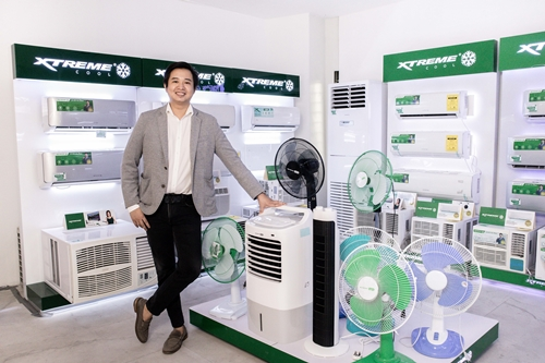 Stephen Cheng, XTREME Appliannces Vice President — Marketing