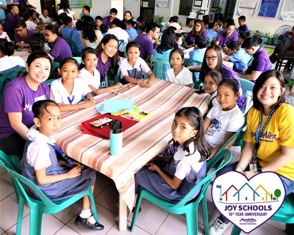Mondelez Philippines Joy Schools Program