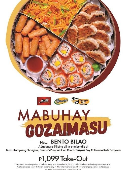 Max's Bento Bilao