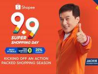 Jackie Chan, newest ambassador of Shopee