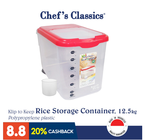 Airtight Rice Storage Container