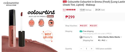 Colourette Colourtint in Emma