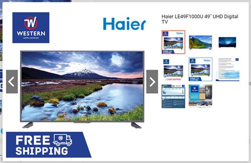 Haier UHD Digital TV
