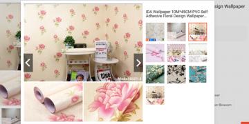 IDA Floral Wallpaper