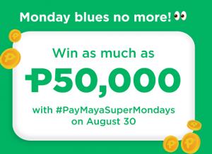 PayMaya Super Mondays