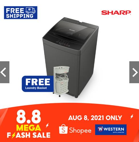 Sharp Washing Machine on Shopee