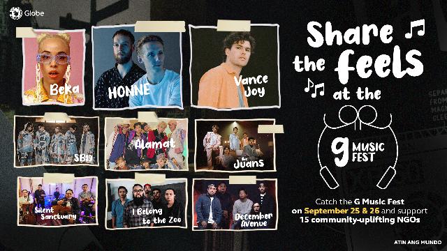 Globe Hosts G Music Fest 2021