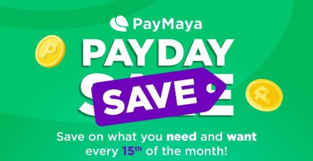 PayMaya PayDay Save
