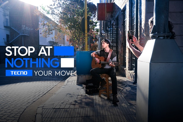 TECNO Mobile's New Brand Slogan, 'Stop At Nothing'